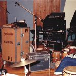 Luis Conte' Percussion Setup