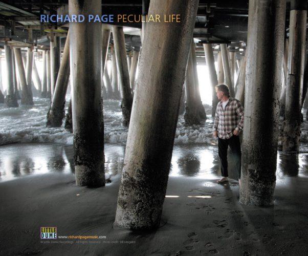 Richard Page - Peculiar Life ipad wallpaper