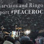 #Peacerocks Stage at John Varvatos