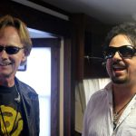 Richard Page and Steve Lukather BTS