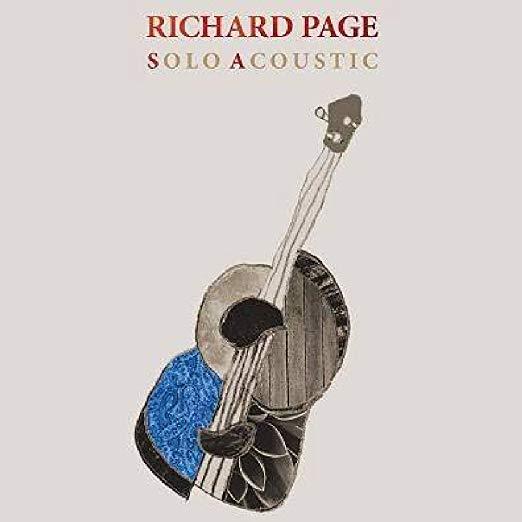 Richard Page - Solo Acoustic Album Cover