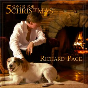 Richard Page Music - 5 Songs for Christmas Album Cover
